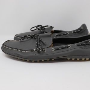 Cole Haan 11.5M Steel Gray Matte Grant Camp Shoes
